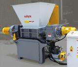 Neumáticos superiores de Weste que introducen/desfibradora de dos ejes del plástico de Soild/madera