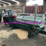 6台の車軸48刃電力動物の寝具によって使用される木製の剃る機械(4000KG/Hour)