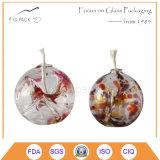 Lâmpada de petróleo de vidro decorativa da venda quente, lanternas