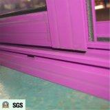 Neues Entwurfs-Puder beschichteter Griff-Verschluss mit Schlüsselschiebendem Aluminiumfenster K01067