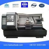 Metal da precisão Cknc6180 que faz à máquina o torno horizontal do CNC
