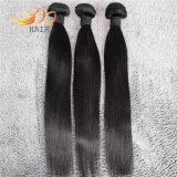 8A加工されていないバージンの人間の毛髪のモンゴルの直毛の織り方