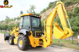Da máquina movente da construção da terra do lobo Jx45 carregador do Backhoe mini para a venda
