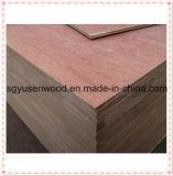 Madera contrachapada comercial de la madera contrachapada 2.5m m del grado de los muebles del grado E1