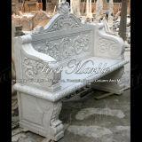 Banco di pietra di marmo del granito & presidenza bianca Mbt-109 di Carrara della Tabella