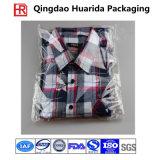 Sacs de empaquetage de vêtement en plastique clair auto-adhésif fait sur commande, sac de T-shirt