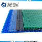 Strato della cavità del policarbonato glassato materiale fresco di 100% con protezione UV