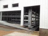 3-8層Hフレームの自動肉焼き器のケージの家禽はおりに入れる