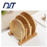 Nuevo sostenedor de bambú creativo caliente del plato de la alta calidad natural