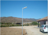 Indicatore luminoso di via solare Integrated caldo di vendita 6W-80W con il sensore di movimento