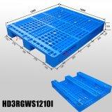 HDPE Op zwaar werk berekende Euro Plastic Pallet voor de Opslag van het Pakhuis