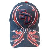 Gorra de béisbol del panel de la manera 6 con la insignia Bb88