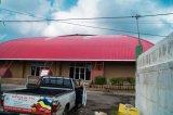 プラスチック屋根シートを使用して軽量の倉庫
