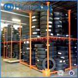 倉庫のFoldable鋼鉄スタッキングのタイヤラック