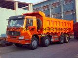 HOWO 상표 덤프 트럭을 운전하는 8X4 30 톤