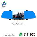Auto-Flugschreiber-Videogerät HD DVR 5 Zollrearview-Spiegel mit GPS