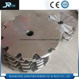 Grande roue de barbotin de chaîne de rouleau d'acier inoxydable des meilleurs prix