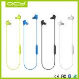 Qcy Qy19는 귀에 있는 Bluetooth 무선 헤드폰 입체 음향 헤드폰을 방수 처리한다