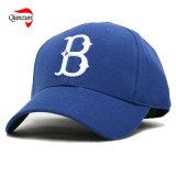ナイロン金属のロゴの野球帽