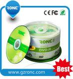 Espacio en blanco barato al por mayor DVD-R 16X 4.7GB de Guangzhou