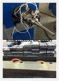 Chaîne de production en plastique de tube souple de protection de fil de PE/ligne d'extrusion