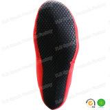 Calcetines de la aleta del voleibol del salto rojo del neopreno que practican surf que bucean