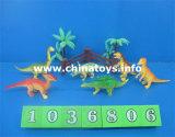 싼 좋은 품질 장난감 연약한 플라스틱 공룡은 놓았다 (1036802)
