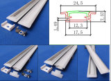 Sizes differente LED Slim Aluminum Profile Extrusion per il LED Rigid Strip
