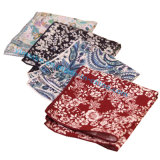Популярный западный Mens Hankerchief конструкции Paisley хлопка для подарка