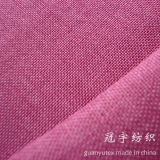 Home Decoration를 위한 Backing를 가진 모든 Styles Imitation Linen Fabric