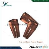 IC Socket Pitch 2.54mm Round Pin L4.82mm 180deg Straight Type avec Bar