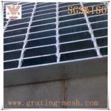 Grating galvanizado escada do aço em barra