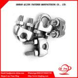 Tipo abrazaderas de los E.E.U.U. de cuerda de alambre del hardware del aparejo/clips de cuerda maleables de alambre