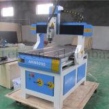 Mini máquina del CNC de la carpintería del Atc Akm6090, ranurador que muele plástico de madera del CNC del MDF mini, 3 madera rotatoria del ranurador del CNC del Atc 3D del regulador del eje