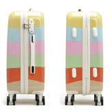 旅行荷物ABS+PCのパソコンの美旅行ケースのトロリースーツケース