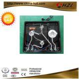 Avellanador del gas de la hornilla del vidrio 4 de la alta calidad