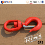 Drop off Forged S-322 Swivel Hook with Safety Latch