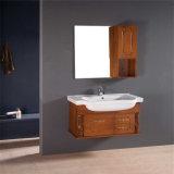 新しい壁に取り付けられた構成の純木の浴室の虚栄心デザイン