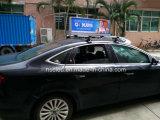 (3G/WiFi) sinal tomado o partido dobro sem fio de venda quente ao ar livre do chapéu de coco do diodo emissor de luz do táxi para a venda