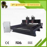 Máquina de grabado del enrutador del CNC de los dobles husos