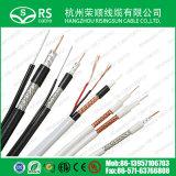 Câble testé par 3GHz coaxial de liaison de la couverture CATV du câble 90% de RG6/U