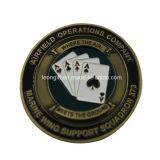 Подгонянная оптовая продажа монетки возможности покера