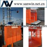 Het Verminderde Energieverbruik van de bouw Lift