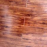 Plancher en bois stratifié en stratifié ciré à haute brillance de HDF AC4