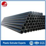 Tubos del tubo del HDPE del PE del estándar de ISO para el agua y el suministro de gas