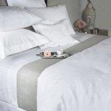 綿の敷布のホリデーインのホテルの寝具セット