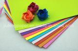 Papel caliente de Origami del color de la pulpa de madera de la venta el 100%