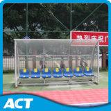 Abrigo da equipa de futebol/assentos portáteis dos esconderijos subterrâneos para o equipamento ao ar livre do estádio