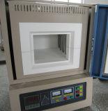 Forno de mufla de alta temperatura 1700c da parte superior do banco (8X8X8inch)