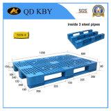 T37-3 / 4 H-Shaped grande aço reforçado Heavy Duty Plastic Tray Pallet